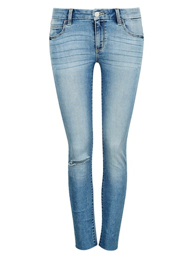 Low Waist Lacey Ankle jeans