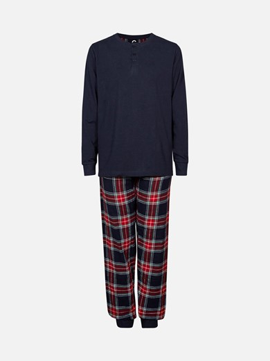 Flannel 2-delad pyjamas